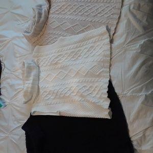 Sleeveless Turtleneck Sweaters